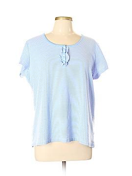 Chaps Short Sleeve Henley Size XL