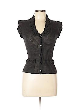 Jean Paul Gaultier Maille Femme Wool Cardigan Size L