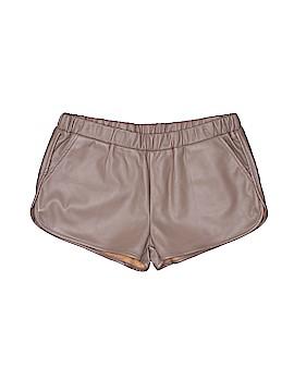 TCEC Faux Leather Shorts Size M