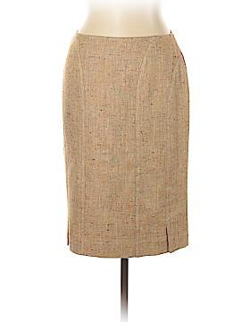 RENA LANGE Silk Skirt Size 10