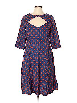 Cherry Velvet Casual Dress Size L
