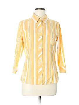 MICHAEL Michael Kors 3/4 Sleeve Button-Down Shirt Size 8