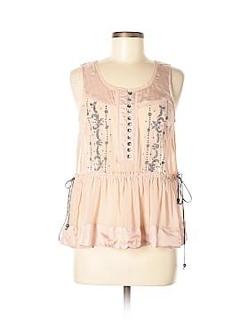 Lithe Sleeveless Silk Top Size 6