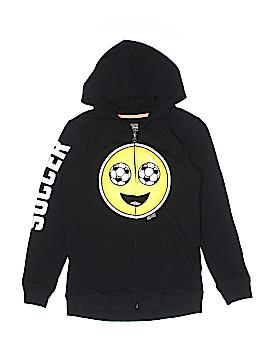 Justice Zip Up Hoodie Size 12 - 14