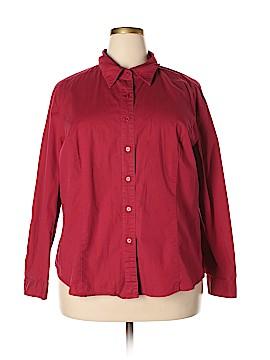 Chadwicks Long Sleeve Button-Down Shirt Size XXL