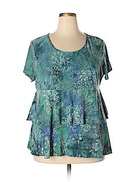 DressBarn Short Sleeve Top Size 3X (Plus)