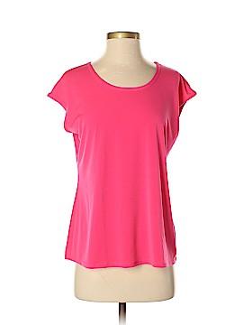 Susan Graver Short Sleeve Blouse Size S