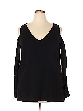 RACHEL Rachel Roy Pullover Sweater Size 0X (Plus)