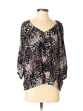 Rebecca Taylor 3/4 Sleeve Silk Top Size 4