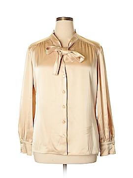 St. John Long Sleeve Blouse Size 16