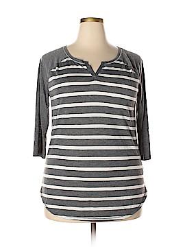 Arizona Jean Company 3/4 Sleeve T-Shirt Size XXL