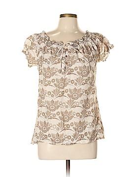 IZOD Short Sleeve Blouse Size L