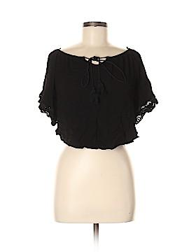Love J Short Sleeve Blouse Size M