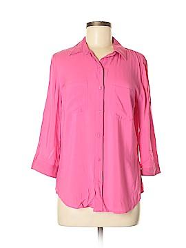 A.n.a. A New Approach 3/4 Sleeve Button-Down Shirt Size M (Petite)
