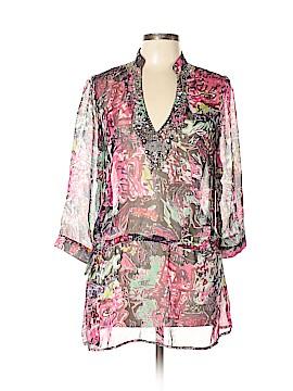 Miss Kelly 1999 3/4 Sleeve Blouse Size L