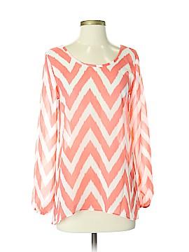 Moa Moa Long Sleeve Blouse Size S