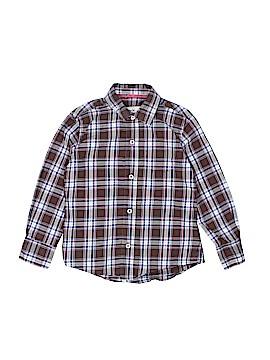 Mini Boden Long Sleeve Button-Down Shirt Size 3 - 4