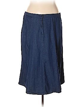 Chadwicks Denim Skirt Size 24W (Plus)
