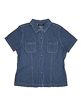 Genuine Sonoma Jean Company Short Sleeve Button-Down Shirt Size L