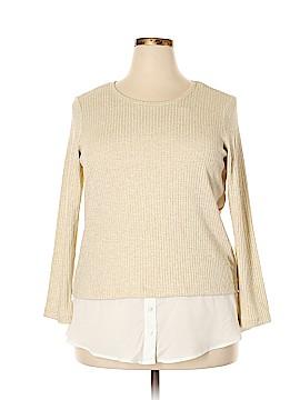 Calvin Klein Pullover Sweater Size 0X (Plus)