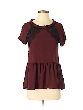 Rewind Short Sleeve Blouse Size S