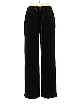 Linda Allard Ellen Tracy Velour Pants Size 6