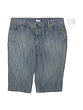 Liz & Co Denim Shorts Size 14