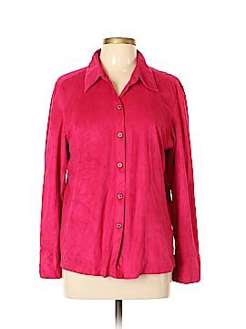 La Cabana Long Sleeve Button-Down Shirt Size L