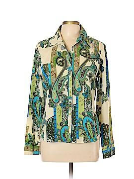Ninety Long Sleeve Button-Down Shirt Size L
