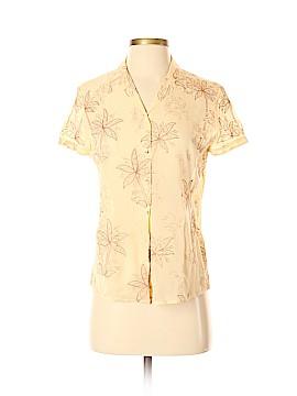 Tommy Bahama Short Sleeve Silk Top Size 4 - 6