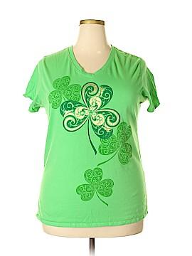 Lucky Short Sleeve T-Shirt Size 3X (Plus)