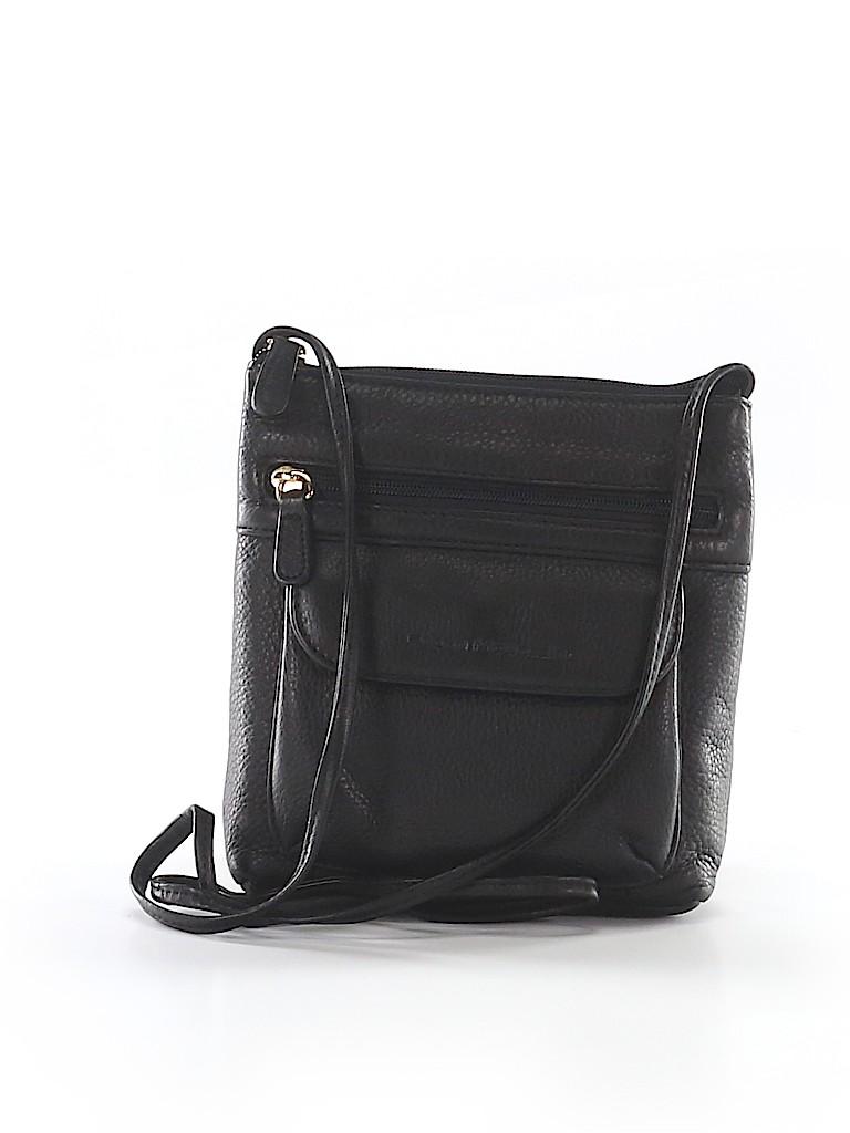 28b280ed17 Stone Mountain Solid Black Crossbody Bag One Size - 75% off