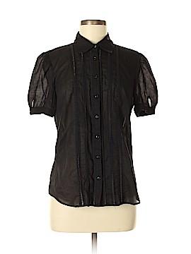 Ann Taylor LOFT Short Sleeve Button-Down Shirt Size 12