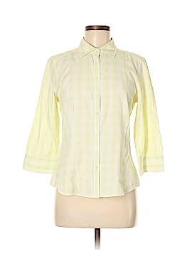 Ann Taylor 3/4 Sleeve Button-Down Shirt Size M