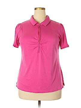 Lane Bryant Short Sleeve Polo Size 18 (Plus)