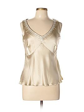 Nine West Sleeveless Silk Top Size 10
