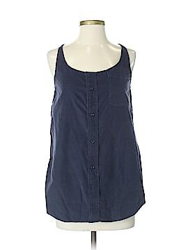 Urban Renewal Sleeveless Button-Down Shirt Size Sm - Med Petite (Petite)