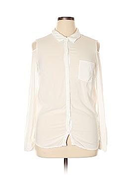 Splendid Long Sleeve Blouse Size XL