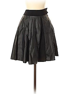 Catherine Malandrino Faux Leather Skirt Size 4