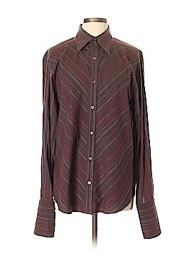 Claiborne Long Sleeve Button-Down Shirt Size L