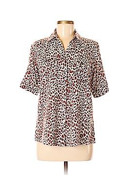 Cathy Daniels Short Sleeve Blouse Size M