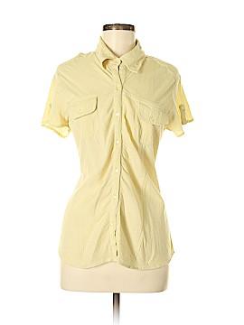 J.jill Short Sleeve Button-Down Shirt Size M