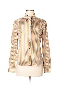 Weekend Max Mara Long Sleeve Button-Down Shirt Size M