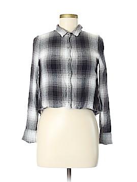 Mudd 3/4 Sleeve Button-Down Shirt Size M
