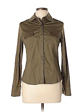 Coco & Tashi Long Sleeve Button-Down Shirt Size L