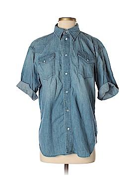 BLK DNM Short Sleeve Button-Down Shirt Size S