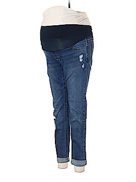 LED Luxe Essentials Denim Jeans 28 Waist (Maternity)