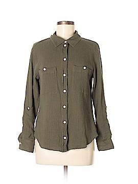 Sanctuary Long Sleeve Button-Down Shirt Size M