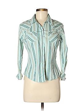 Tilt Long Sleeve Button-Down Shirt Size M