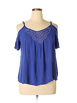 Mudd Short Sleeve Blouse Size XL